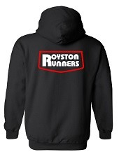 The Royston Runners hoodie (back)